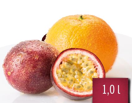 Orange-Maracuja-Fruchtsaftgetränk