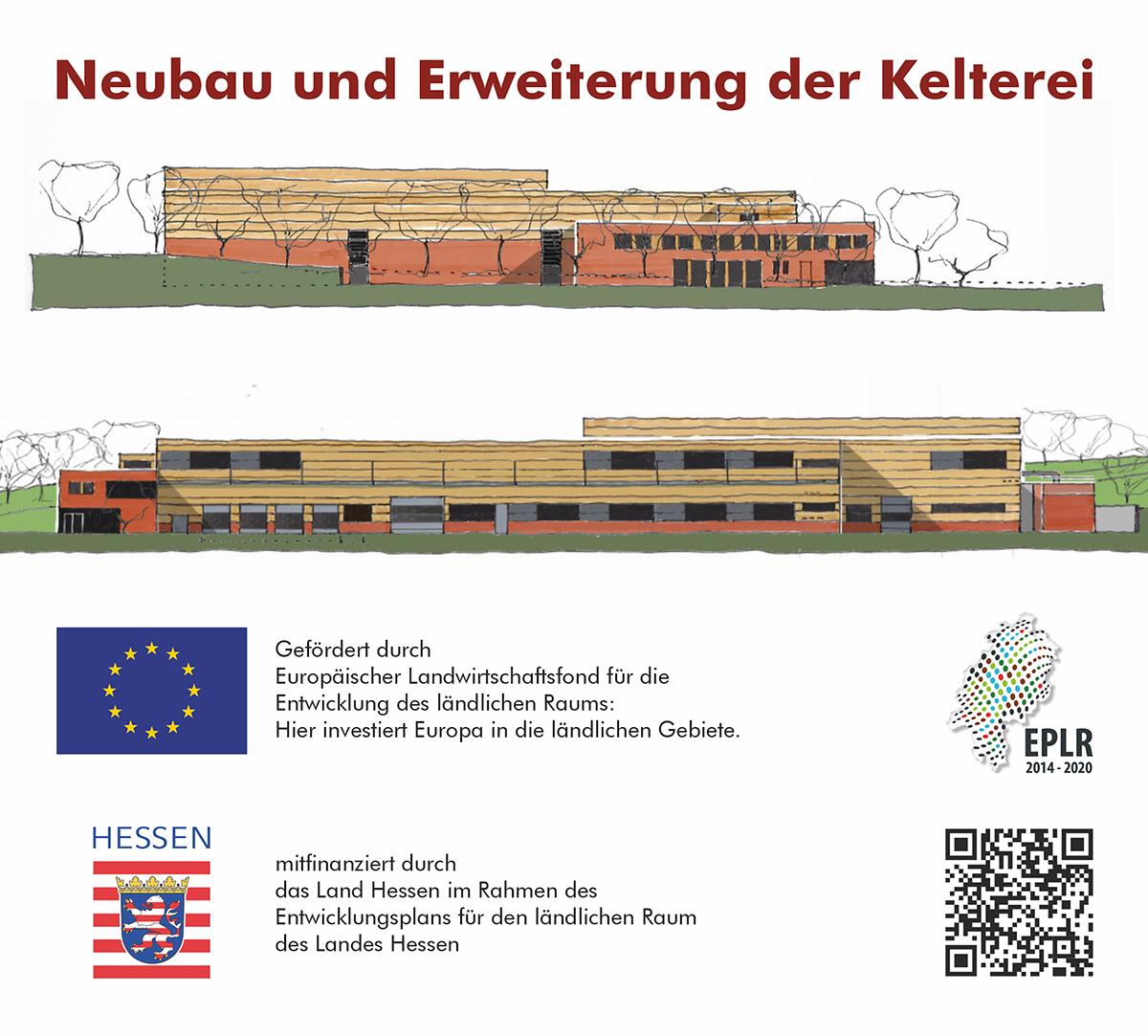 Neubau und Erweiterung der Kelterei